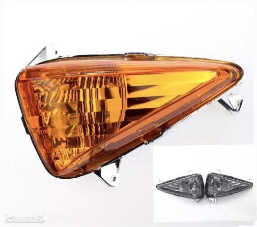 Piscas honda cbf 600 cbf 1000 amarelos ou tipo cristal