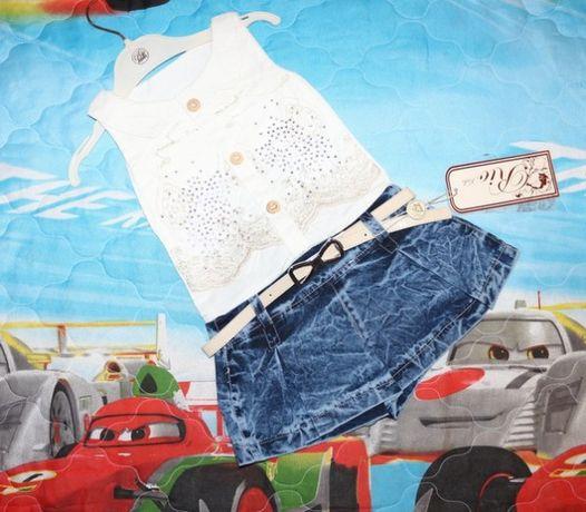 Комбинезон, юбка-шорты