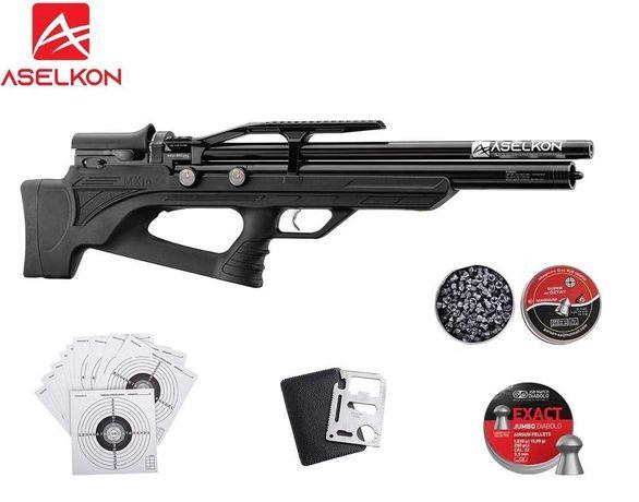 125 12 Wiatrówka PCP Aselkon MX10S kal.5.5mm !