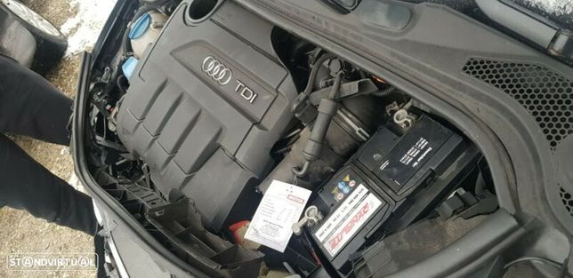 Motor Audi A3 Q3 TT 2.0Tdi 140cv CFFB CFFD CFHC CRBC Caixa de Velocidades Automatica + Motor de Arranque  + Alternador + compressor Arcondicionado + Bomba Direção