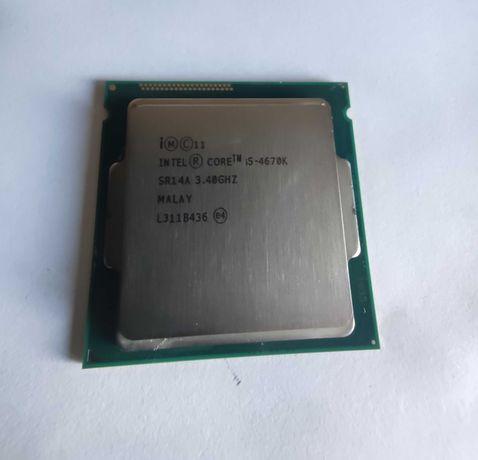 Processador Intel i5 - 4670k + cooler Nox Hummer H-212