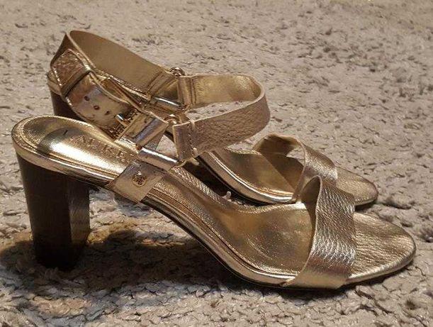 Оригинал.фирменные,кожаные босоножки-сандали polo ralph lauren