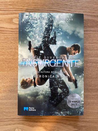 Livros Divergente e Insurgente