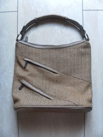 Stylowa słomiana torebka torba na ramię Silvia Rosa