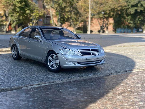 Mercedes,mercedes w221,autoart,1/18,модель,машинка,mercedes s-class