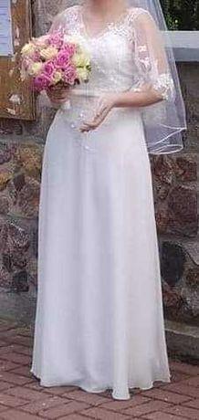 Suknia slubna rozmiar S