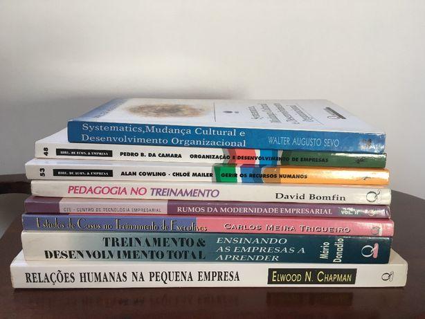 Livros de gestão/ recursos humanos