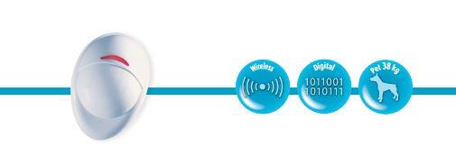 VISONIC Next K9-85 MCW Датчик движения с иммунитетом к животным
