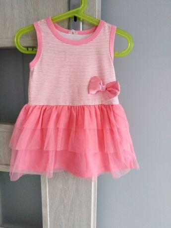 Sukienka z tiulowa spódniczka roz. 86cm możliwa wysyłka OLX