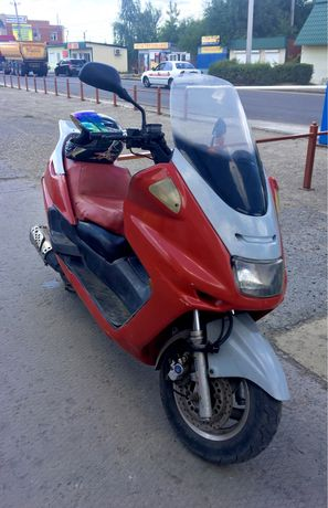 МаксиСкутер Geely 150