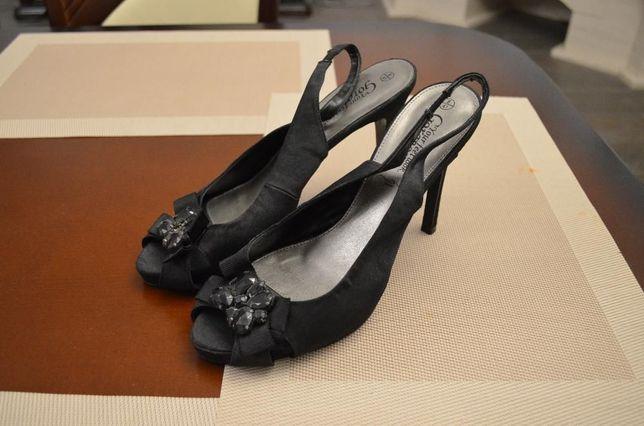 NOWE !!! śliczne czarne SZPILKI r. 41 m-ki NEW LOOK buty JAK ZA DARMO!