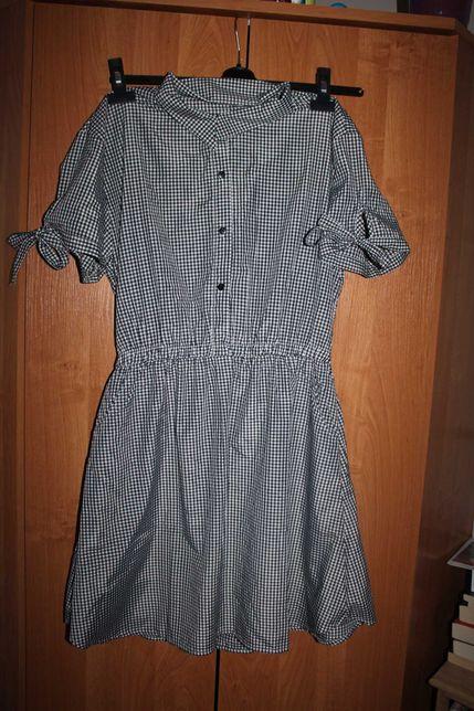 Sukienka w kratke XL