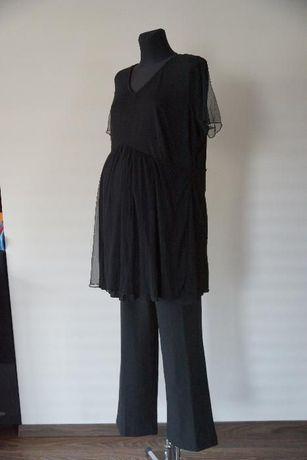 Nowy zestaw dla ciężarnej bluzka i spodnie ciąża