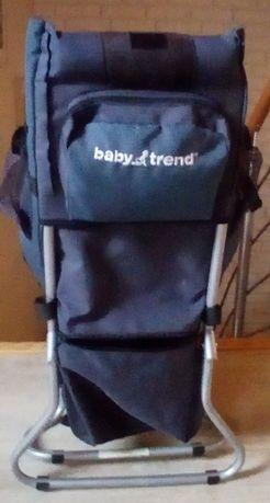 Nosidełko turystyczne Baby Trend wygodne lekkie USA