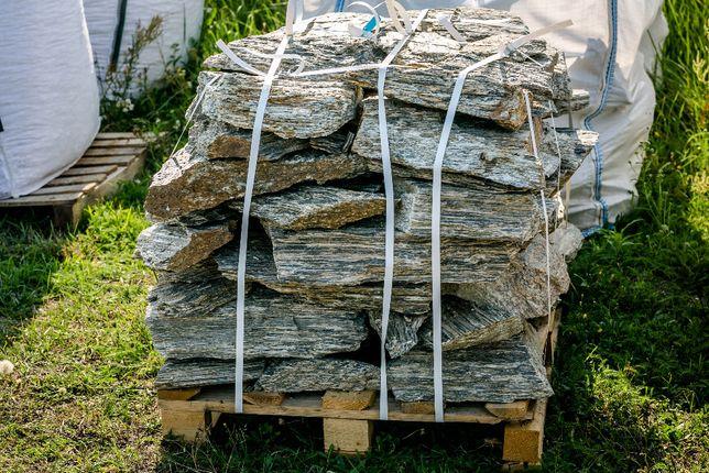 Płytka łupana Kamień Murowy gnejsowy dekoracyjny Kora kruszywo grys