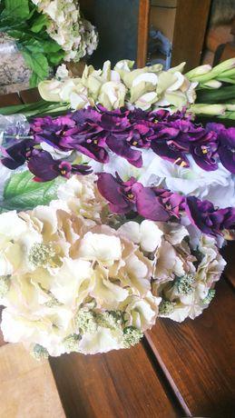 Искуственные цветы для интереров