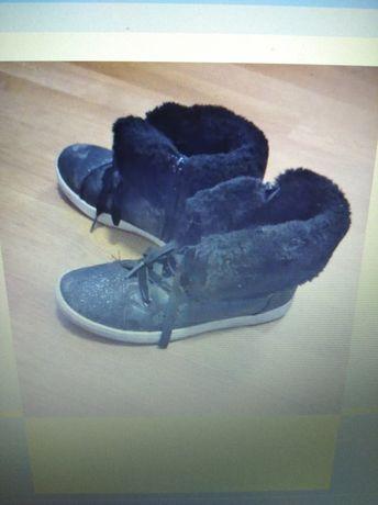 Buty czarne rozmiar 33