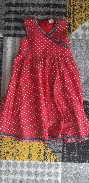 Piękna długa sukienka r. 104