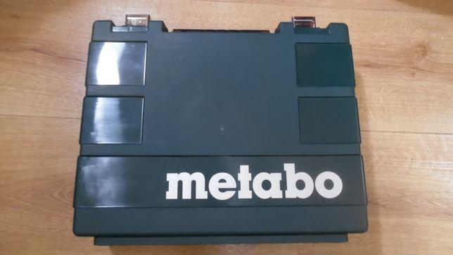 Metabo oryginalna nowa walizka na wiertarkę i osprzęt