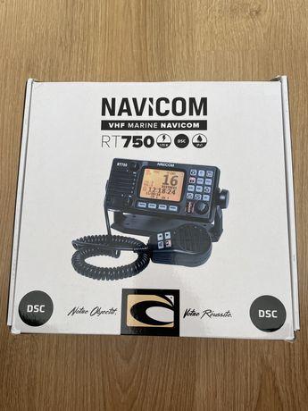 Radio Navicom RT750 e antena
