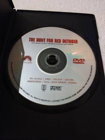 """DVD """"Caça ao Outubro Vermelho"""""""