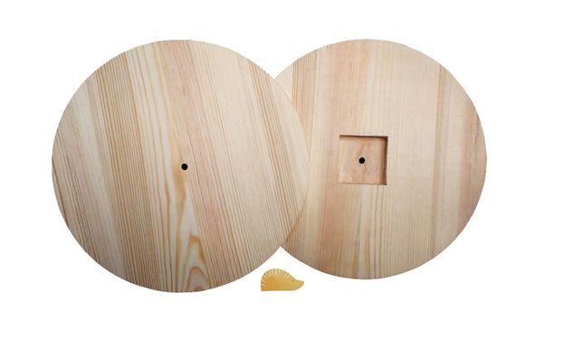 Часы деревянная заготовка для декупажа