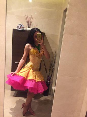 Sukienka do tańców Latynoamerykańskich