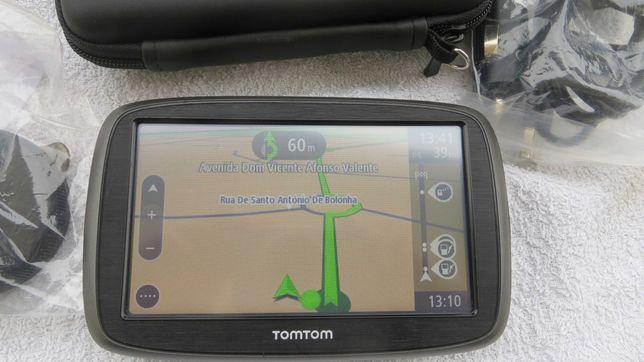 GPS TomTom GO 50 LM-Mapas grátis Vitalícios- 5 Polegadas -Impecável