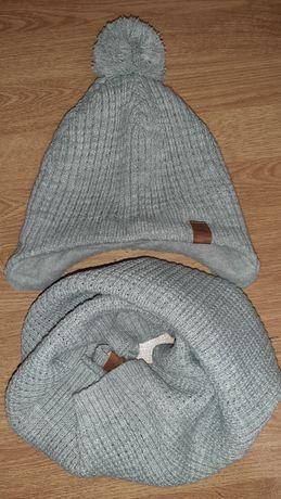 Набор шапка + хомут h&m