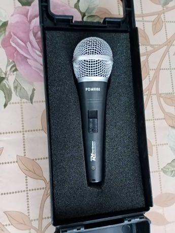 mikrofon pojemnościowy power dynamics pdm 660