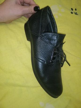 Туфли женские, натуральная кожа!