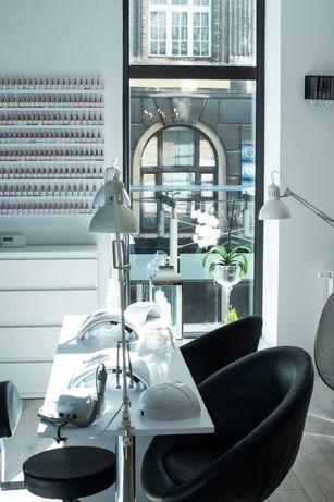 Biurko kosmetyczne, stolik kosmetyczny manicure dwustanowiskowy