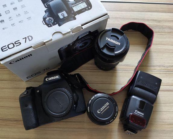 Зеркалка Canon 7d body