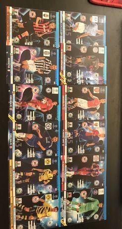 13 kart defensive rock Champions league 2014/2015