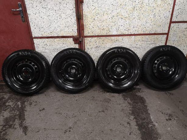Komplet kół zimowych 5x112 195/65/15 Bridgestone. VW Audi Skoda itp