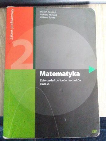 """Sprzedam podręcznik """"Matematyka. Zbiór zadań. Zakres podstawowy."""""""
