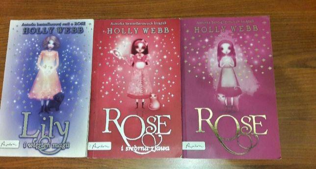 Książki Holly Webb - stan idealny, nie kartkowane
