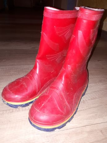 Резиновые сапоги, резинові чоботи 35р,є мєх.
