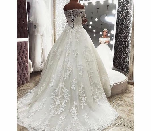 Свадебное платье, S-M , салон «Анабель»