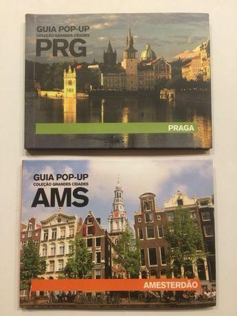 Guias POP-UP de Praga e Amesterdão