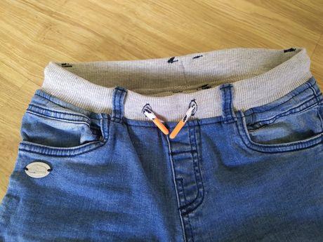 Spodnie/joggery Cool Club dla chłopca rozmiar 128 stan idealny