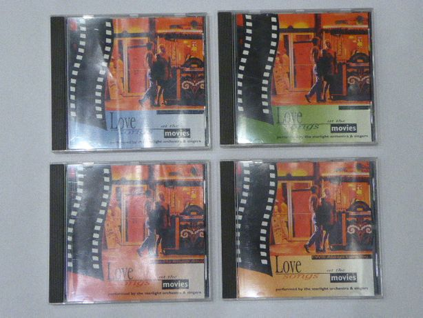 Love songs at the movies. Zestaw 4 płyt CD.