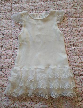 Biała sukienka cocodrillo 74