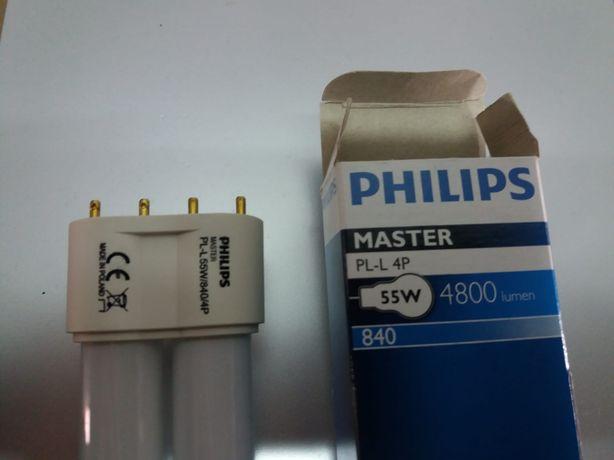 Lâmpadas Philips Master PL-L 4P. 55W