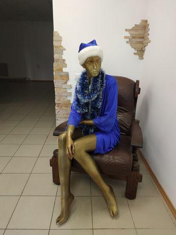 Манекен женский сидячий
