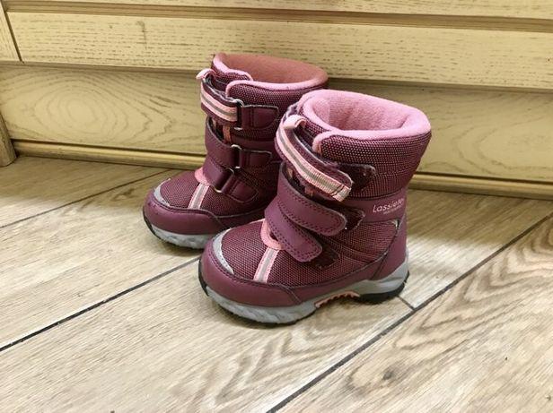 Ботинки сапожки lassie tec 22 размер