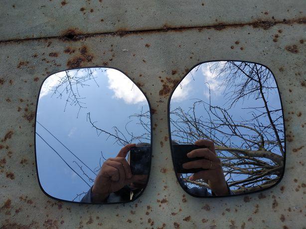 Стекла для зеркал Citroen Berlingo 2006 левое и правое