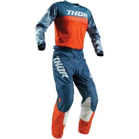 Strój Komplet Thor Pulse Spodnie Koszulka Bluza enduro motocross