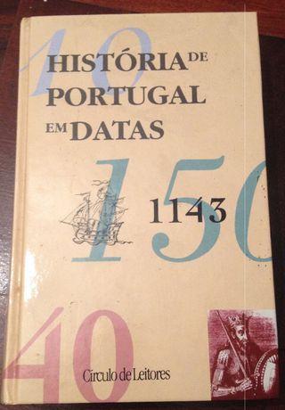 História de Portugal em Datas - Círculo de Leitores (Portes Grátis)