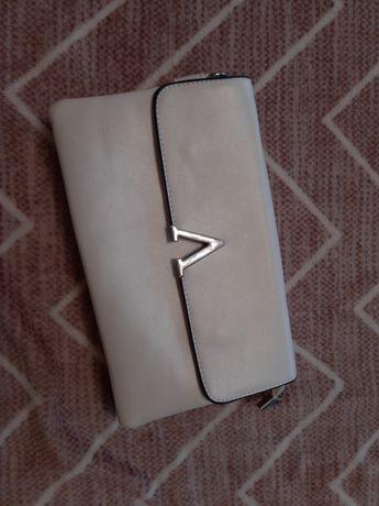 Клатч білий (сумка)